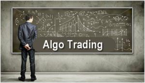Man Building AlgoTrading Flow Chart