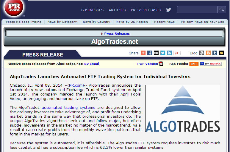 Automated trading systems 4