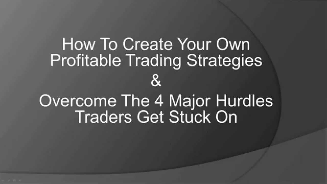 How to build your own trading system